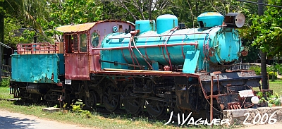 Dampflokomotive in Pattaya / Thailand