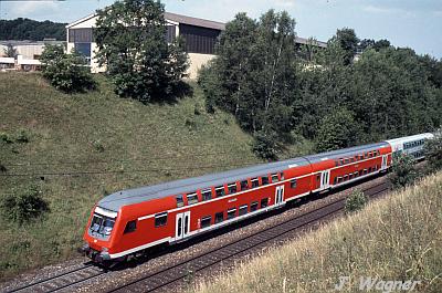 Regionalexpress von Stuttgart nach Ulm