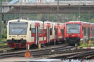 Dieseltriebfahrzeuge in Ulm Hbf
