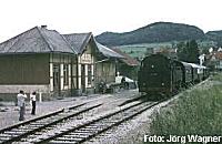 Bahnhof Albstadt-Truchtelfingen an der Talgangbahn