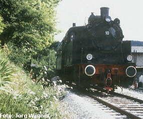 Lok 10 auf der Talgangbahn